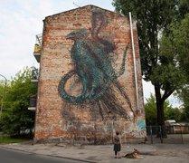 Mural przy Bliskiej 23, fot. M. Kruger