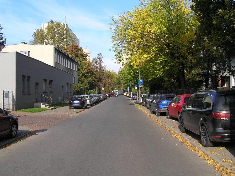 Ulica Burdzińskiego wWarszawie