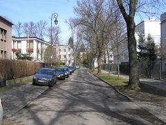Ulica Dąbrowiecka wWarszawie