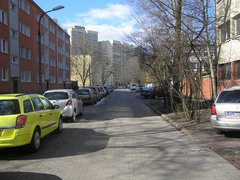 Ulica Darłowska wWarszawie