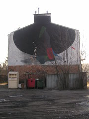 Mural przy Modrzewskiego 26