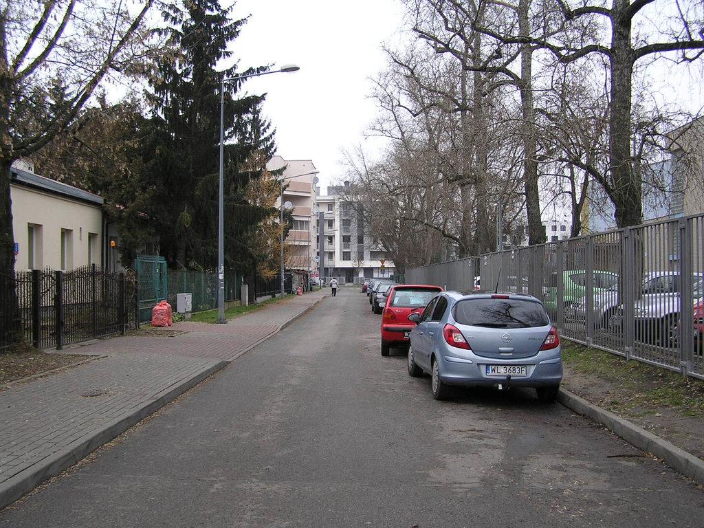 Ulica Biłgorajska wWarszawie