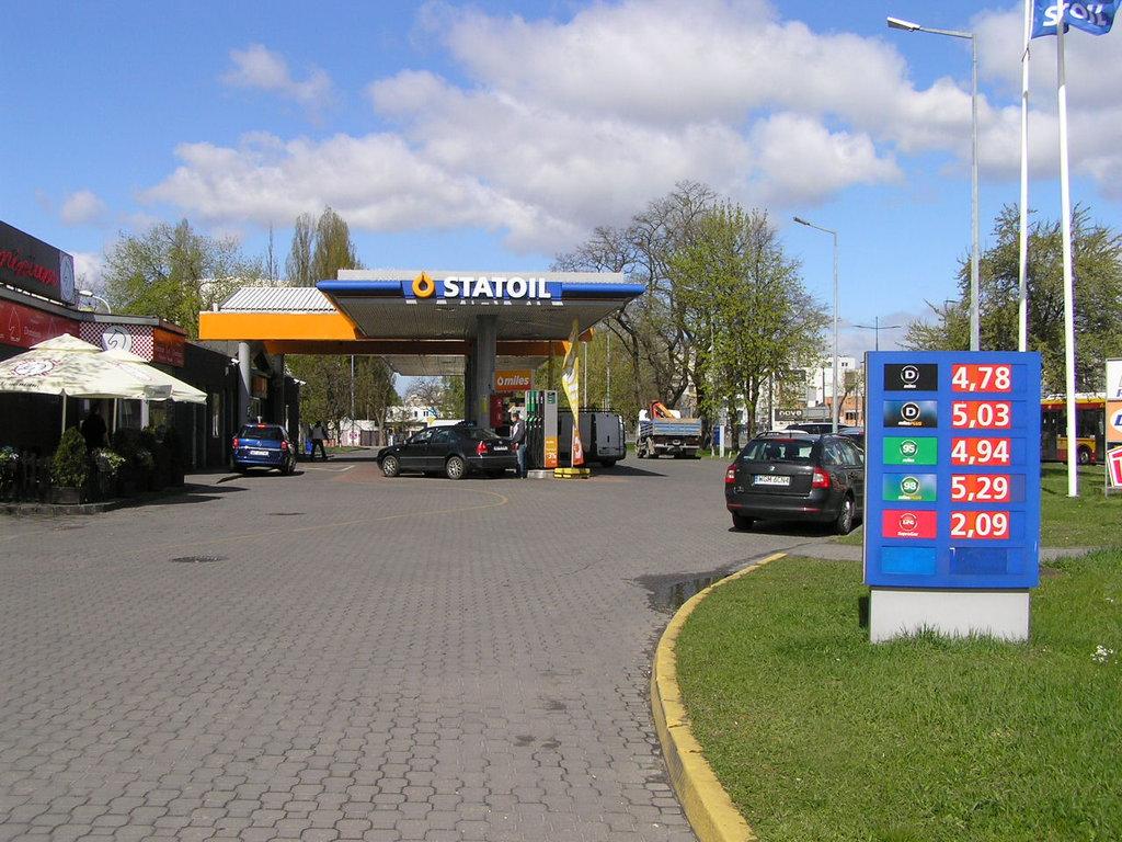 Grochowska 19 stacja paliw Circle K  wWarszawie