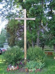Krzyż misyjny przy Grochowskiej 194/196