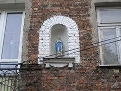 Kapliczka przy Grodzieńskiej 26 na Pradze