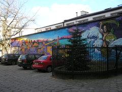 Mural przy Kaleńskiej 3