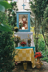 Kapliczka przy Kępnej 4, fot. Anna Szwałkiewicz