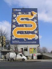 Mural Jamnik przy Kijowskiej 11