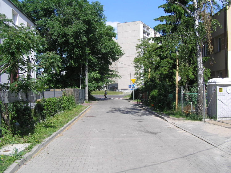 Ulica Latyczowska wWarszawie
