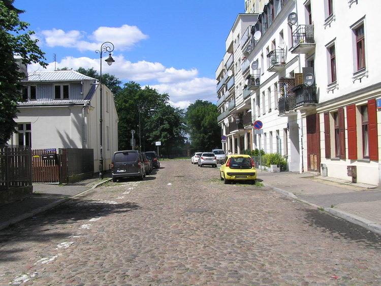 Ulica Lęborska wWarszawie