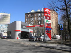 Marcinkowskiego 6 - stacja benzynowa