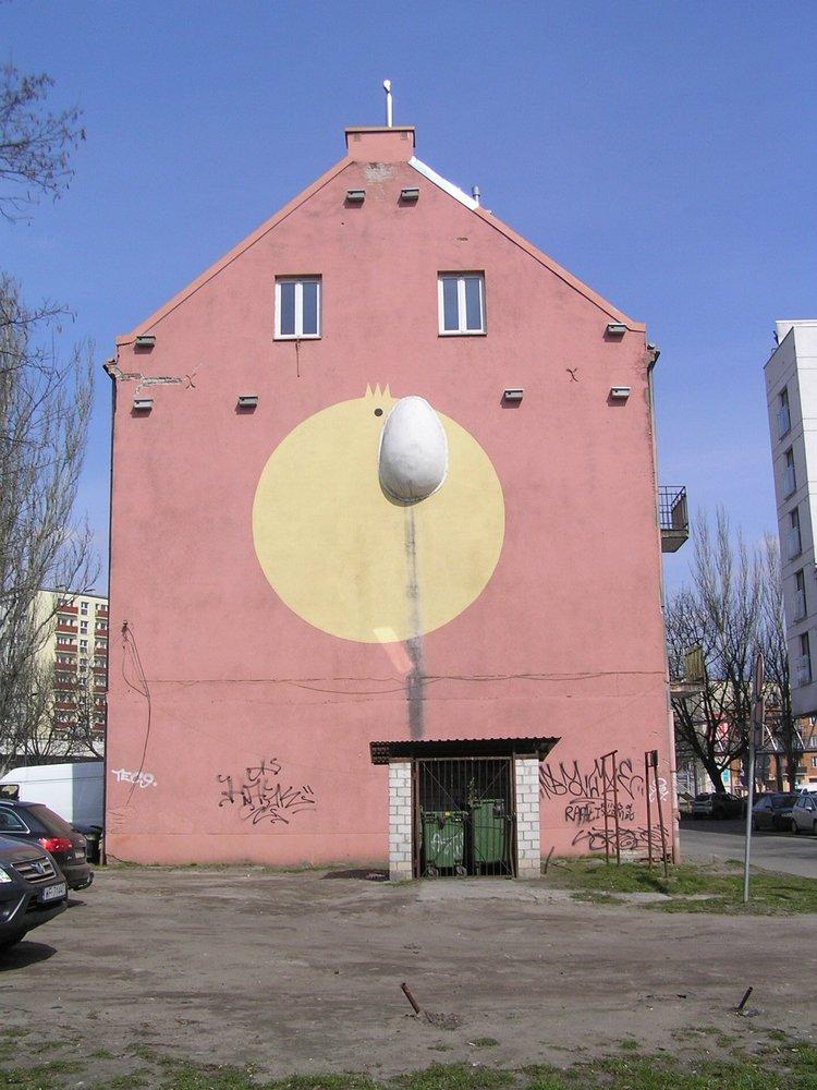 Mural Jajo Męcińska 42