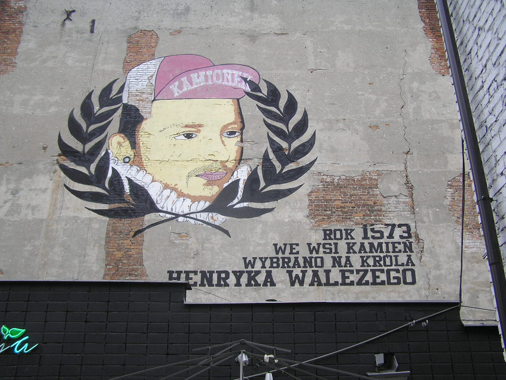 Mural Henryk Walezy