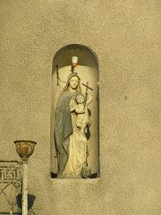 Kapliczka przy Mińskiej 15 wWarszawie