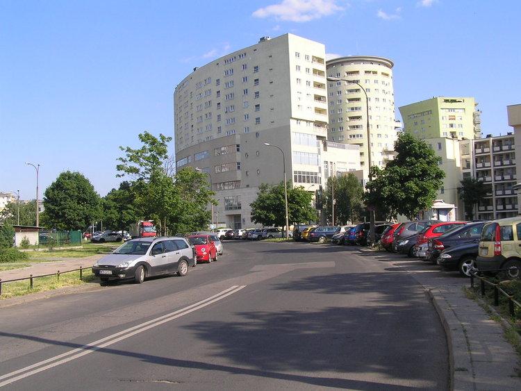 Ulica Motorowa wWarszawie