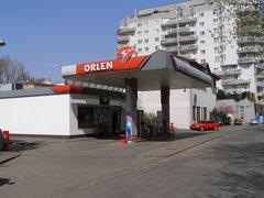 Nasielska 1 stacja paliw wWarszawie