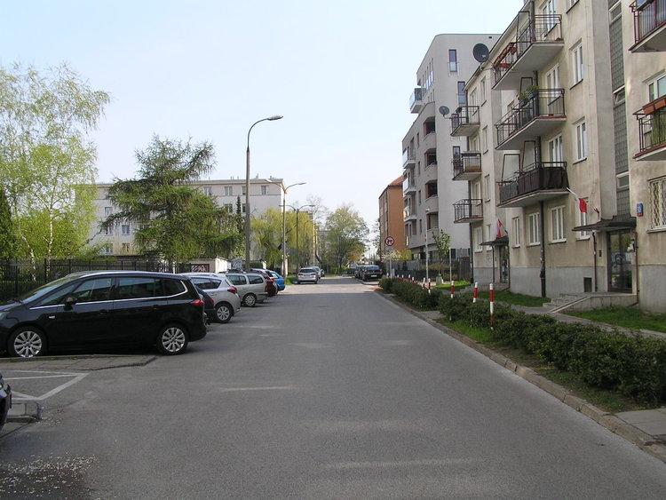 Ulica Nasielska wWarszawie