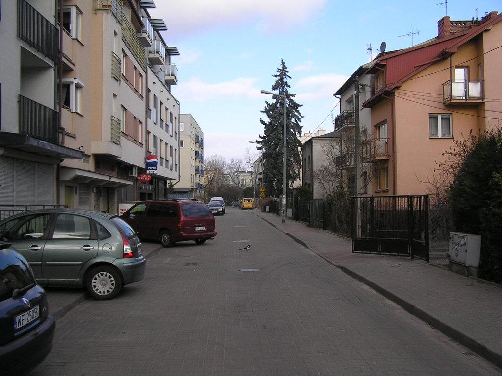 Ulica Obarowska wWarszawie