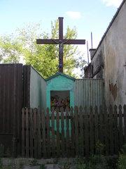 Kapliczka murowana przy ulicy Okrzei 18 wWarszawie