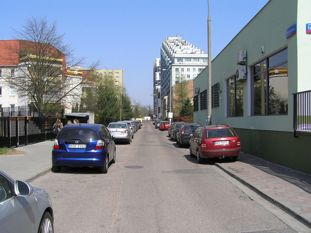 Ulica Okuniewska wWarszawie