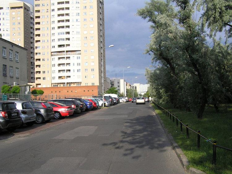 Ulica Perkuna wWarszawie