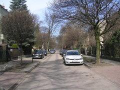 Ulica Poselska wWarszawie