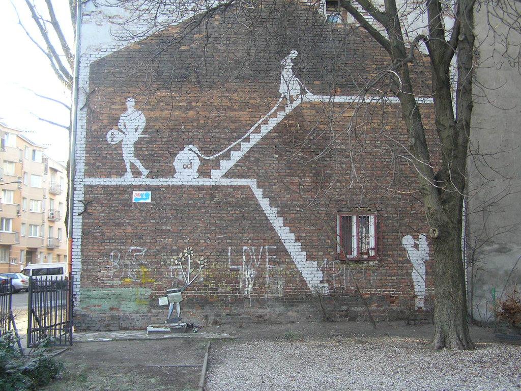 Mural przy Równej 19