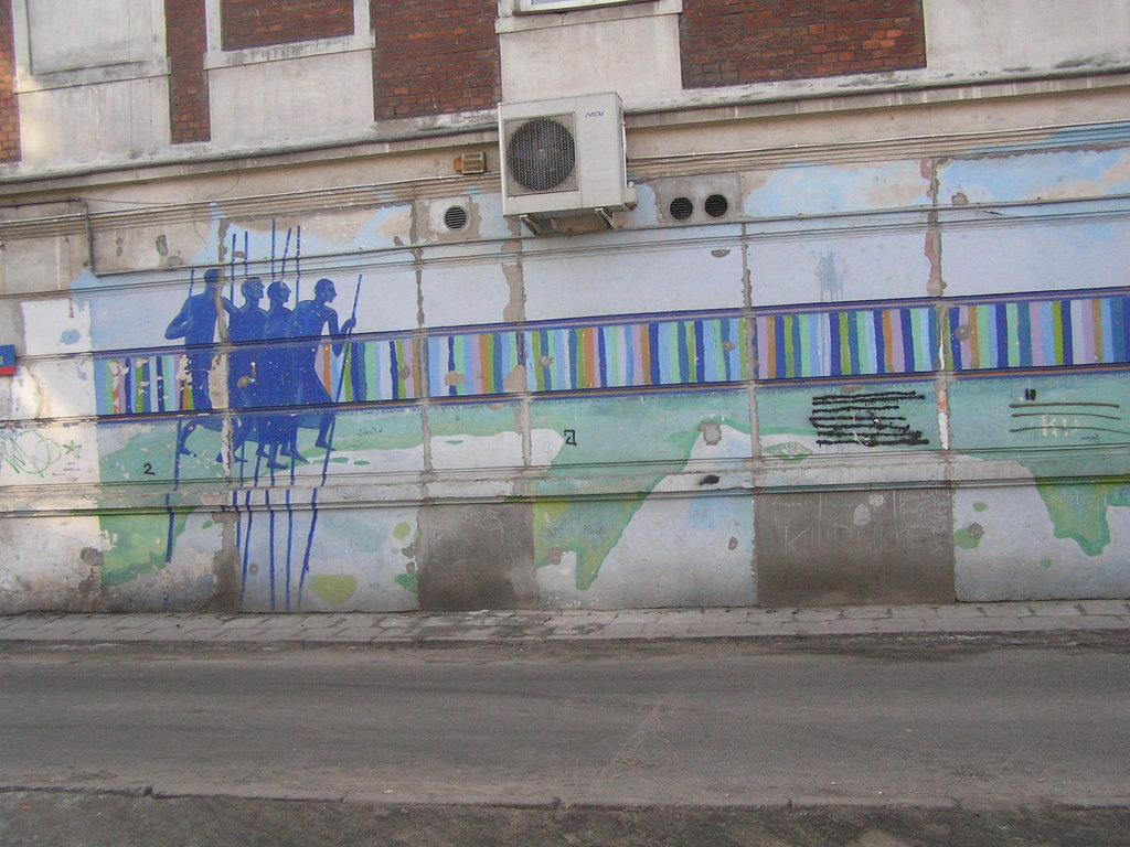Mural przy Stalowej 37