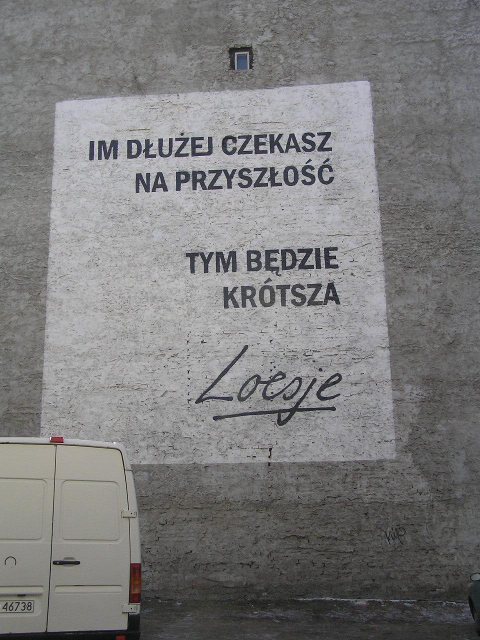 Mural przy Stalowej 38 na Pradze