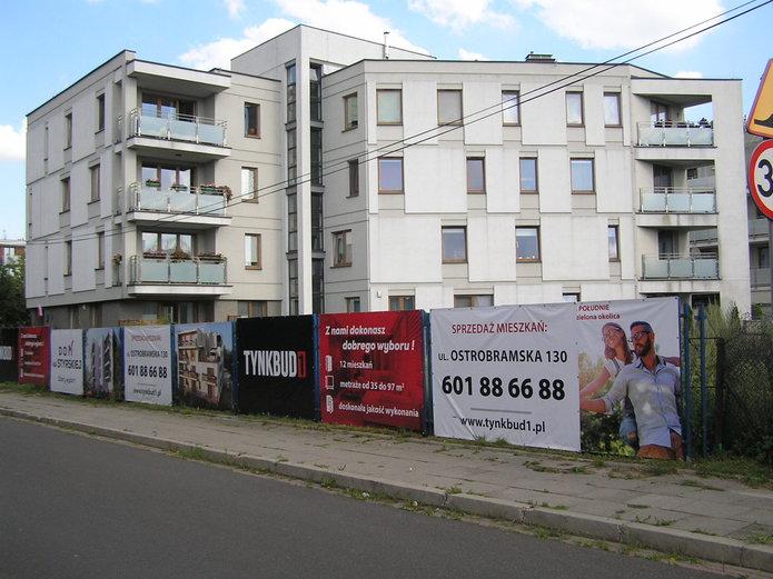 Dom na Styrskiej - miejsce inwestycji