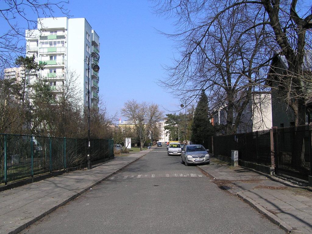 Ulica Szczawnicka wWarszawie