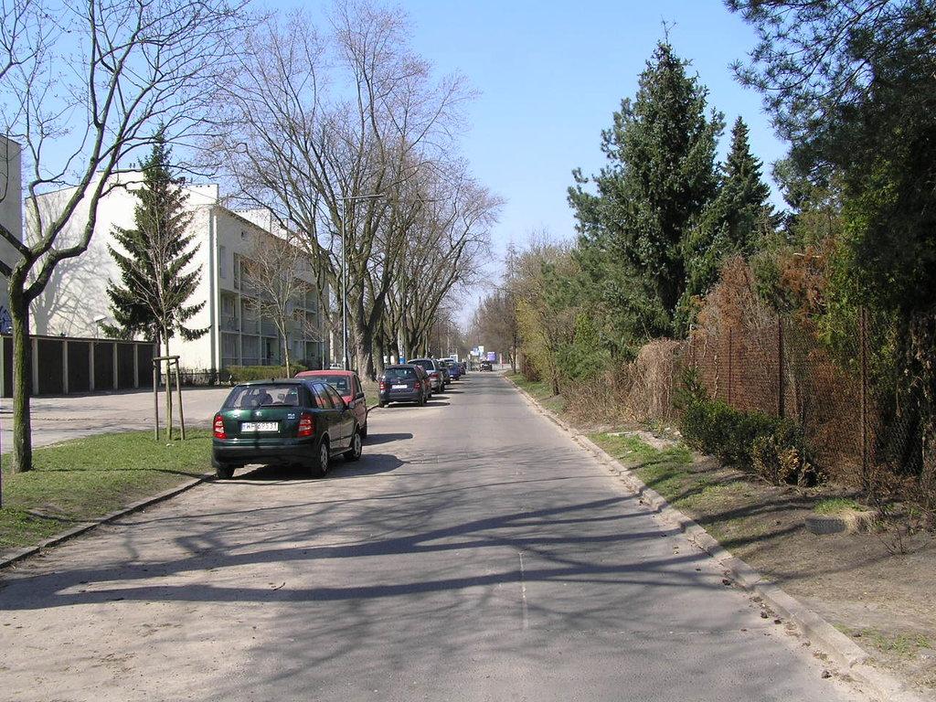 Ulica Szklanych Domów wWarszawie