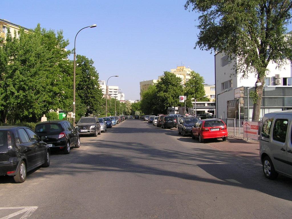 Ulica Zagójska wWarszawie