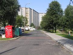 Ulica Znanieckiego wWarszawie