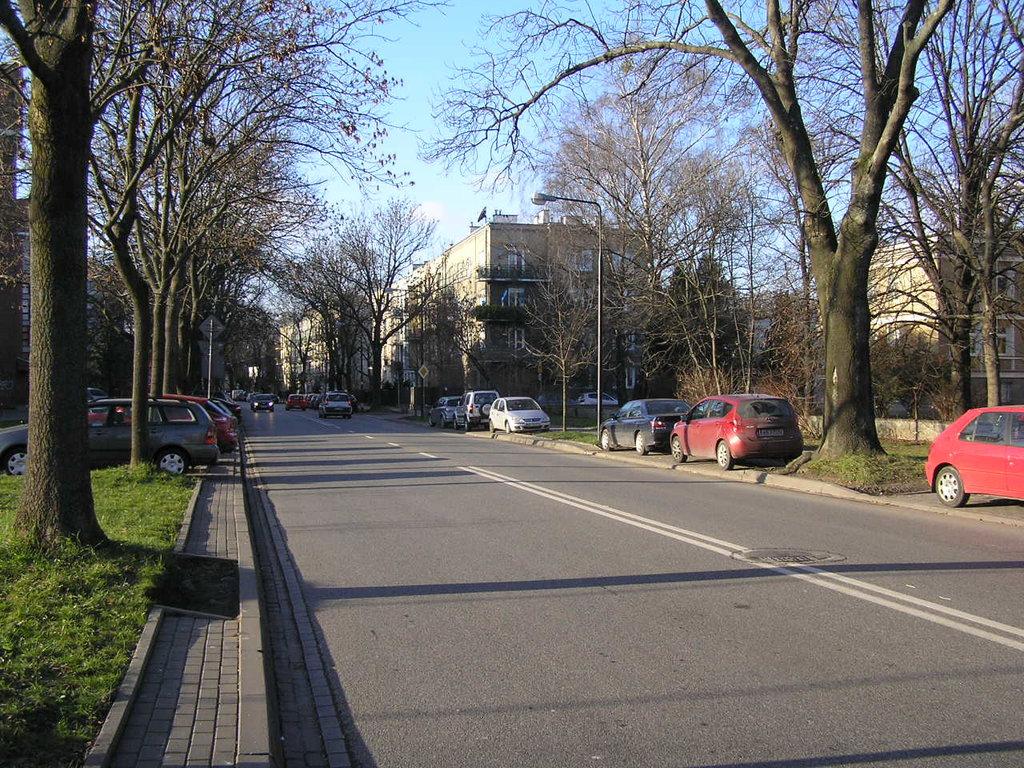 Ulica Zwycięzców wWarszawie