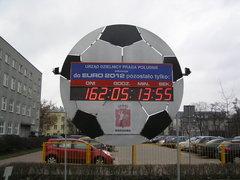 Euro zegar na Grochowskiej 274