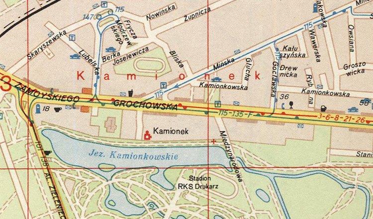 Kino Kamionek wWarszawie
