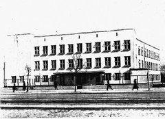 Budynek szkoły w1935 roku