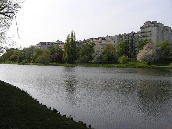 Wiosna w Parku Skaryszewskim