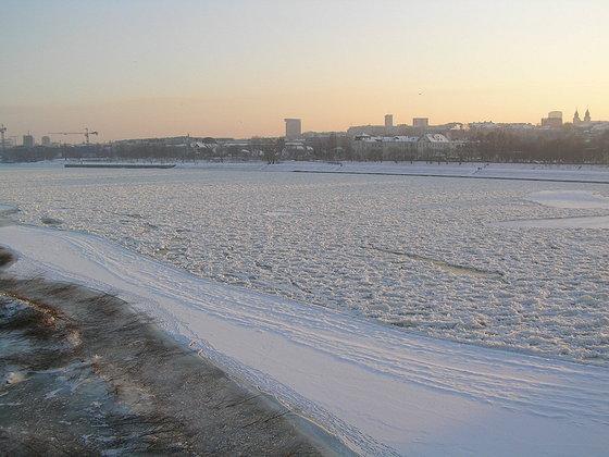 Zima na Starej Pradze