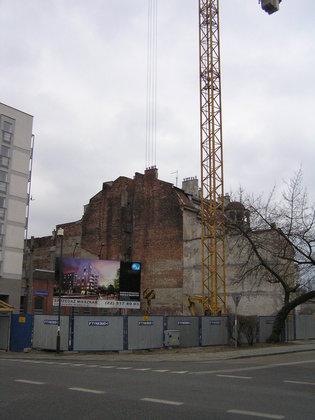 Chodakowska 24 - Budowa budynku mieszkalnego