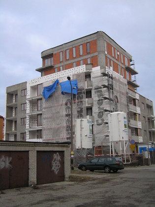 Nasielska 32 - Budowa budynku mieszkalnego