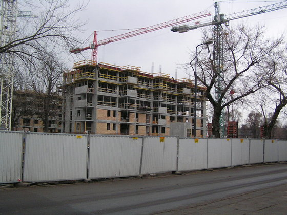 Budowa Osiedla Gocławska