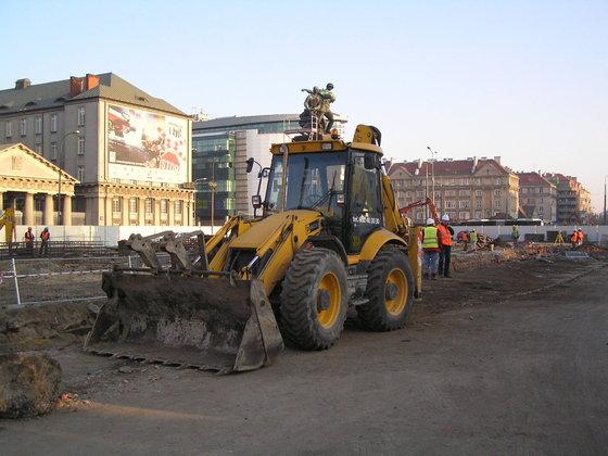 Demontaż Pomnika Braterstwa Broni