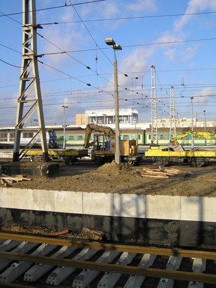 Trwa modernizacja dworca Warszawa Wschodnia