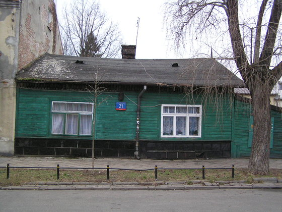 Zółkiewskiego 21 - Drewniak na Gocławku