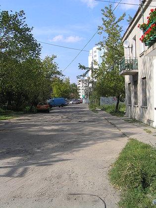 Ulica Czapelska na Grochowie