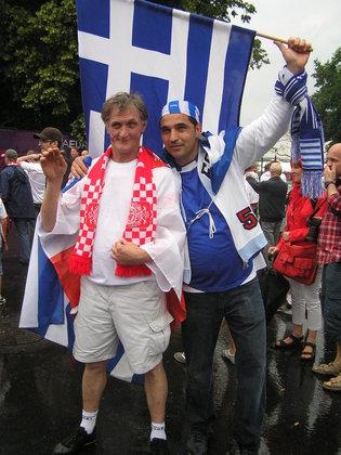Euro 2012 przed meczem Polska - Grecja