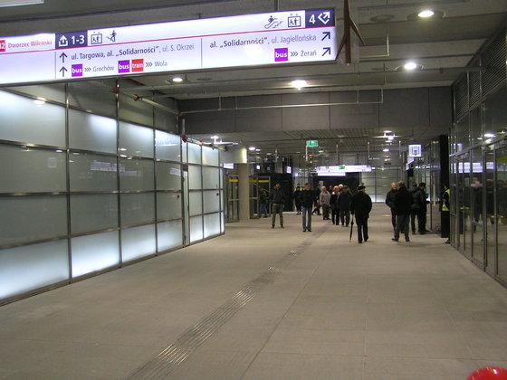 Stacje Dworzec Wileński i Stadion Narodowy - Dzień Otwarty