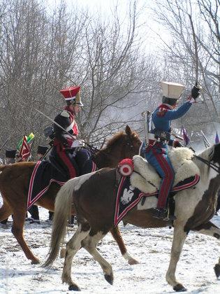 Rekonstrukcja 180 rocznicy bitwy o Olszynkę Grochowską